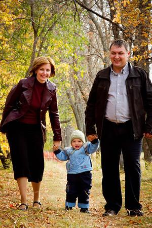 Nataliya and Family