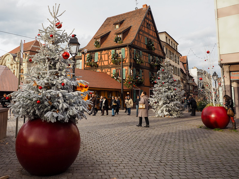 Colmar, France at Christmas