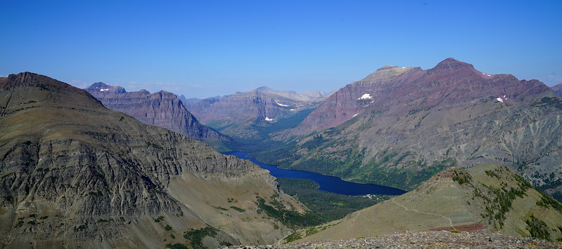 View of Upper Two Medicine Lake