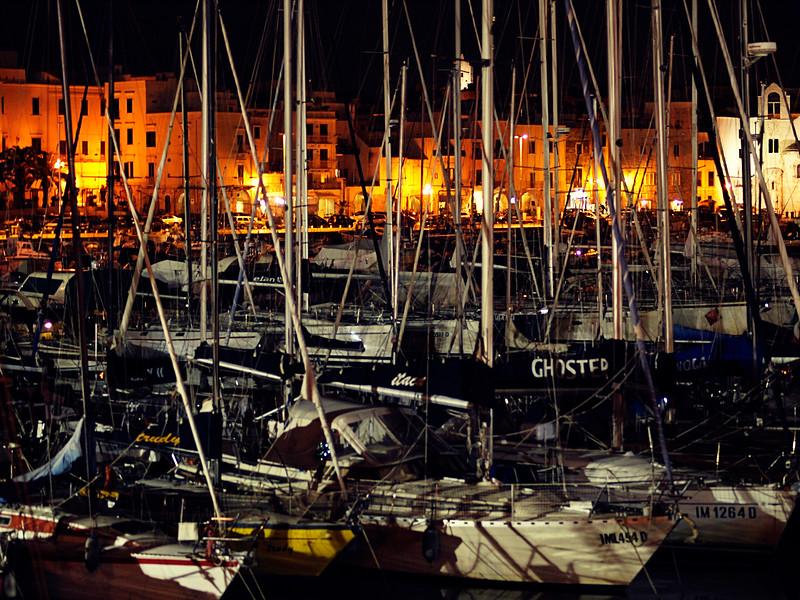 Boats in Trani