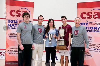 2012 College Squash Individual Championship Highlights