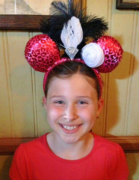 """First pair of """"Mickey"""" ears"""