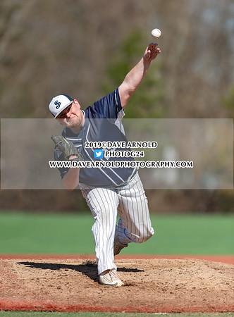 4/16/2019 - Varsity Baseball - Newton North vs St. John's Prep