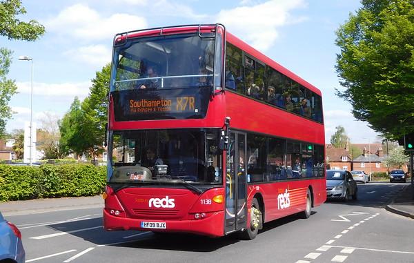 Scania N230UD (integral) - Salisbury Reds