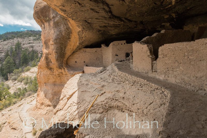Ruins at Gila Cliff Dwellings National Monument, New Mexico