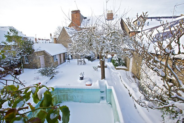 Snow in Witney, Winter 2010–11