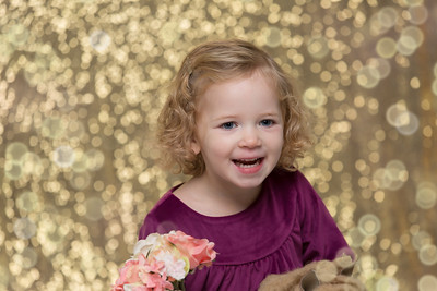 Kylie Cahill- Girl Child Daughter Sister Portrait Studio Headshot Candid Natural Flowers Seamless Wall Cute Blond Toddler Western Mass Photo Studio Westfield Southwick Granby CT Hartford Springfield Agawam Southampton Easthampton Springfield Northampton B