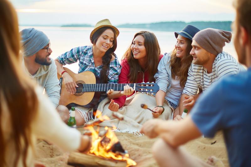Campfire singing