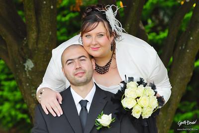 En couple au jardin botanique