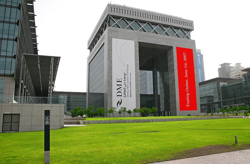Part of Dubai's financial market.