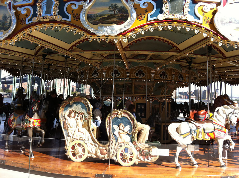 Jane's Carousel at Creator's park in Dumbo