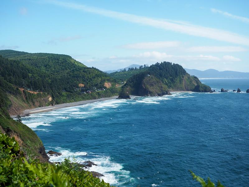 Oregon coast at Cape Mears