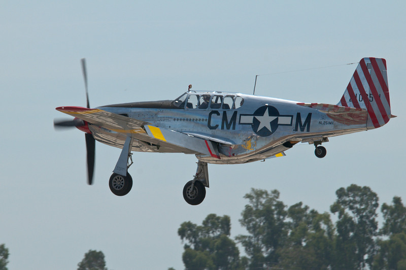 """""""Betty Jane"""" returning to land at Lincoln, CA."""