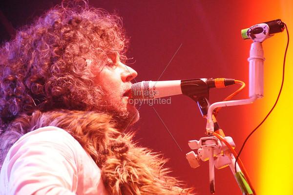 Wayne Coyne, The Flaming Lips, New Years Eve Freakout 5, Dec.31,2011. Oklahoma City, Oklahoma