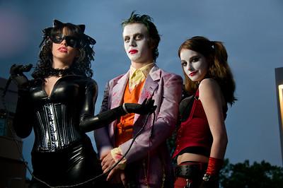 Harley Quinn, Joker, Catwoman