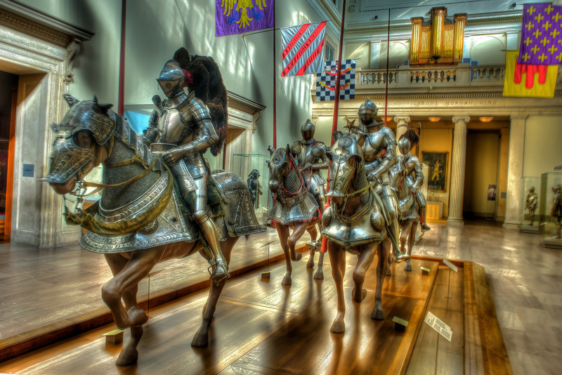 Horses and Men At Arms