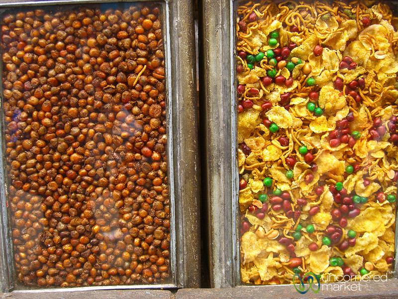Snacks at the Market - Darjeeling, India