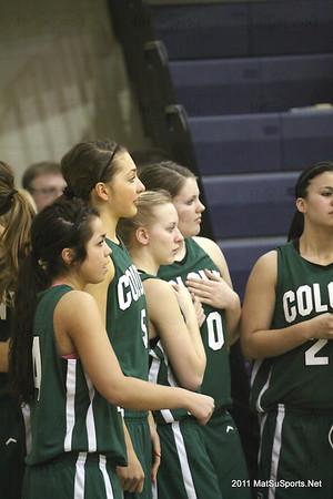 Palmer Vs. Colony Girls V 2-16-2011