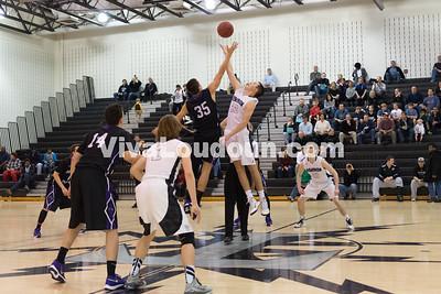 Boys Basketball: Potomac Falls vs. Dominion 2.3.16 (by Chas Sumser)