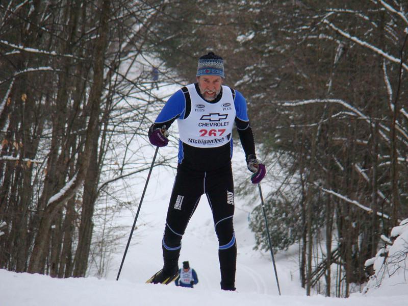 Go Team NordicSkiRacer! Go Greg Worrel!