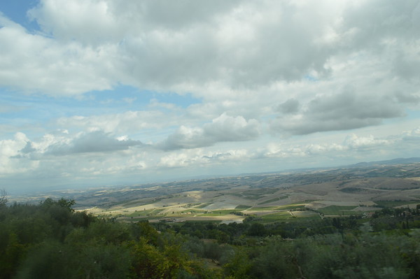The Italian countryside