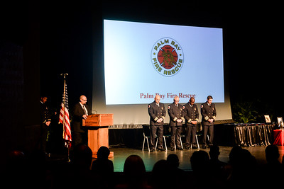 Palm Bay Fire Fighters Award Ceremony 2019