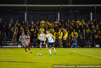 2nd Half from UM Men's Soccer Vs Ohio State 11-5-14