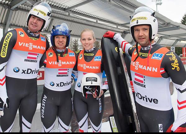 Team-Staffel Viessmann Rennrodelweltcup 19-11-2017
