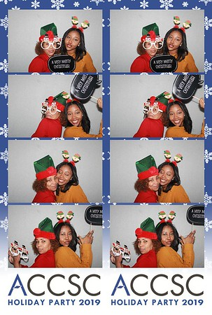 ACCSC Holiday Party 2019