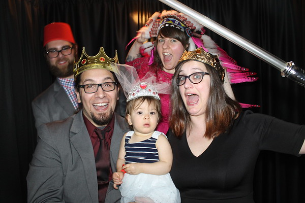 Meg & Dan's Wedding Photobooth Pics 9.9.17!