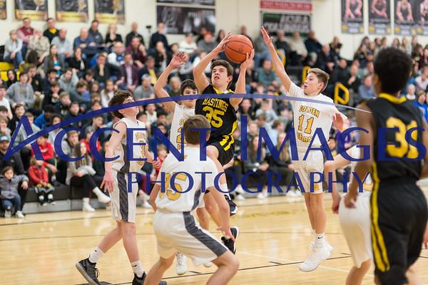 8th Grade Boys Basketball vs Jones 1/24/19