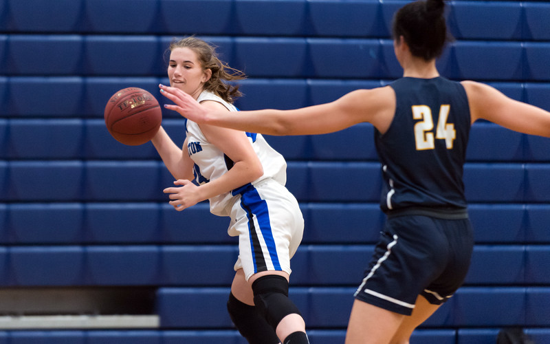 02/05/19  Wesley Bunnell   Staff  Southington girls basketball was defeated at home by RHAM on Tuesday evening. Sam Sullivan (24)