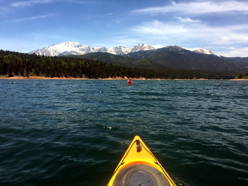 Kayaking Crystal reservoir
