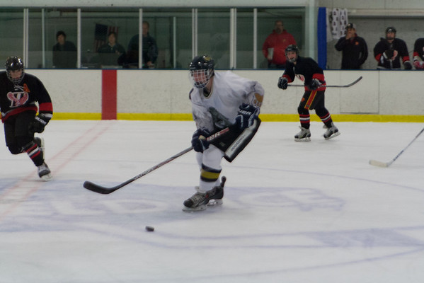 Haverford Hawks at Hatfield Ice Dogs 16A White 10-27-2013