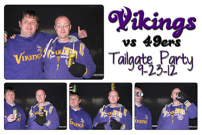 09-23-2012 Vikings tailgate party