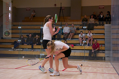 2012-02-24 Louisa Drake (Johns Hopkins) and Lucy Rice (Vanderbilt)
