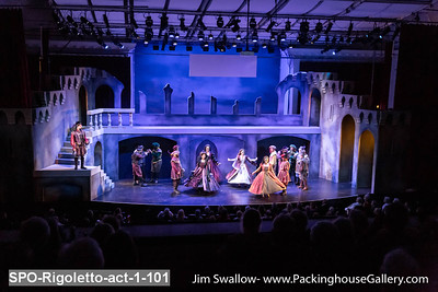 St Petersburg Opera Rigoletto Act 1  January 2020