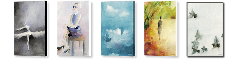 Canvas wall art prints by Beverly Brown - www.beverlybrown.com