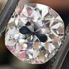 3.03ct Antique Cushion Cut Diamond, GIA K VVS2 0