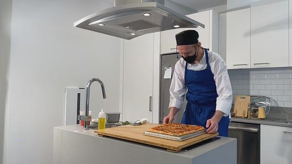 1.7.2020 Virtual Pizza & Trivia - Chef Alex Filming