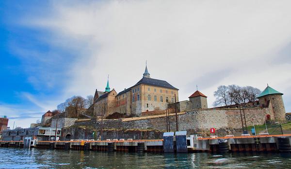 Στο μεσαιωνικό φρούριο Akershus