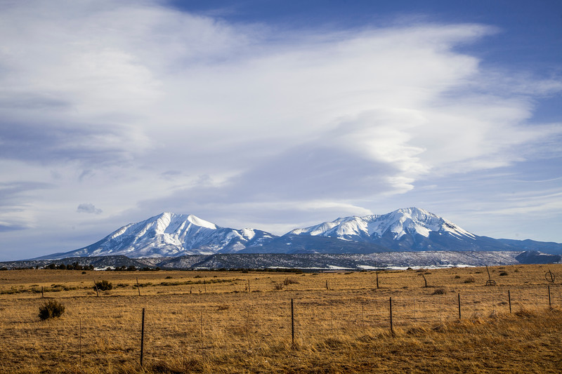 Spanish Peaks Colorado