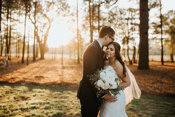 Rowan + Finn's Sunset Wedding