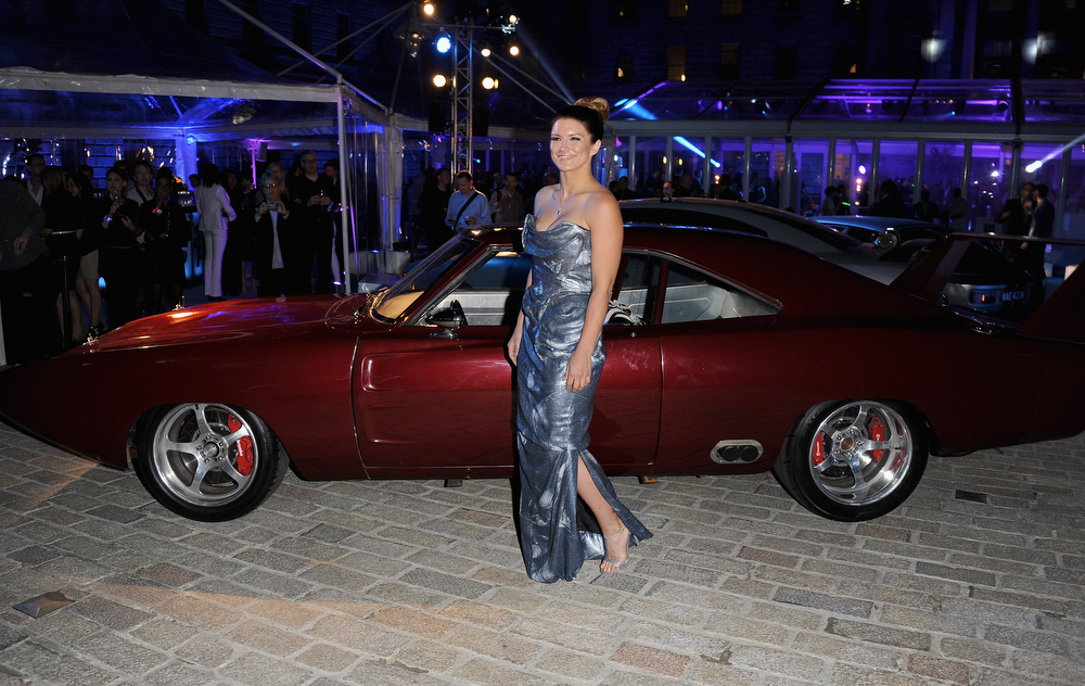 ". Actress Gina Carano attends the ""Fast & Furious 6\"" World Premiere after party at Somerset House on May 7, 2013 in London, England.  (Photo by Stuart C. Wilson/Getty Images for Universal Pictures)"