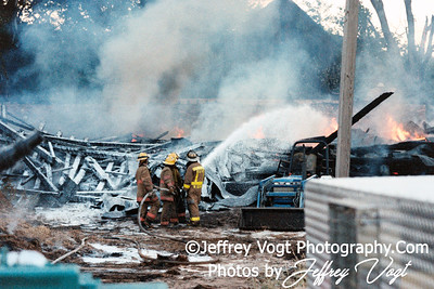 Germantown 29 Box Barn Fire, Photos by Jeffrey Vogt Photography
