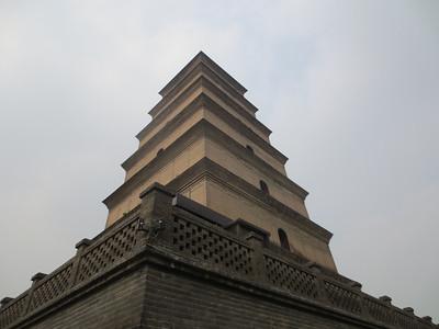 Wild Goose Pagoda - Xian China (Sep-12)