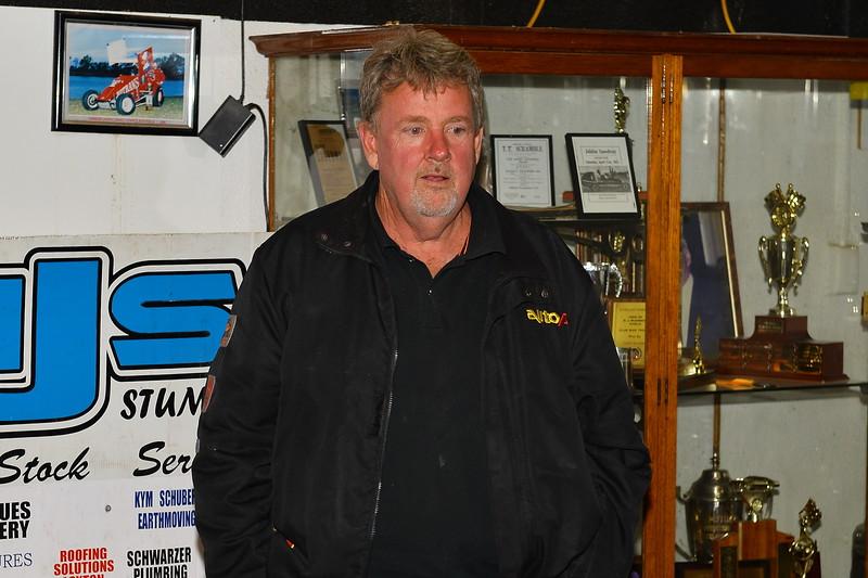 Presentation to winners Junior Sedan SA Title