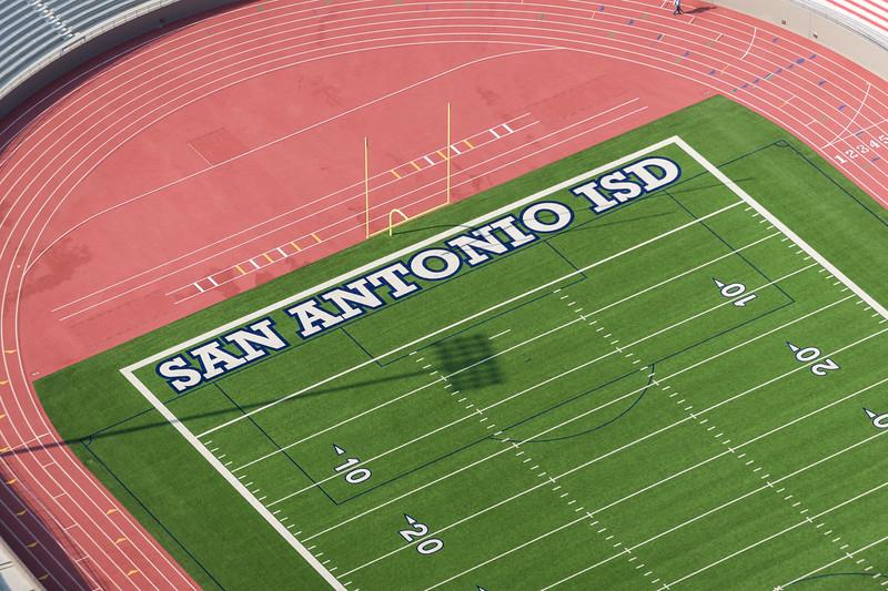 09/23/2014 093154 -- San Antonio, TX -- © Copyright 2014 Mark C. Greenberg  Alamo Stadium