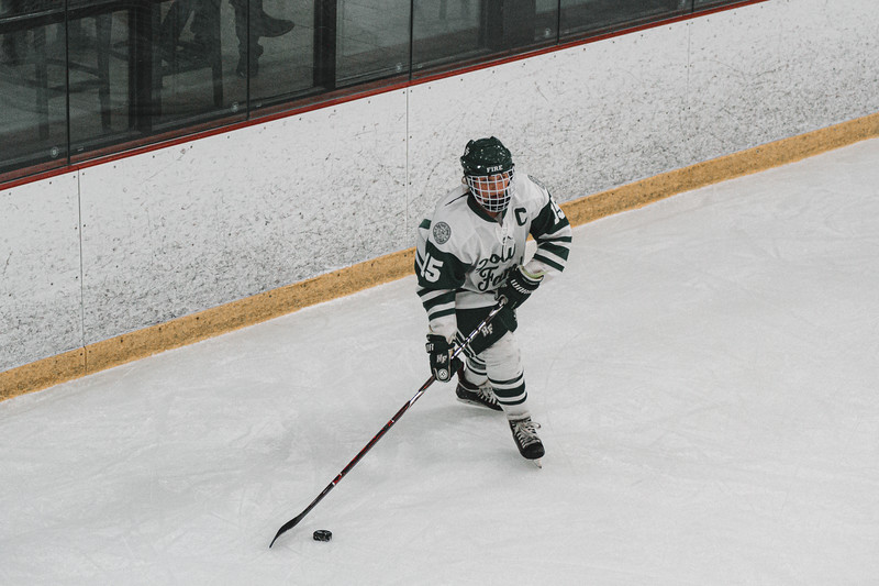 Holy Family Varsity Girls Hockey vs. Waconia, 1/9/20: Lauren Hickey '20 (15)