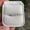 1.47ctw Carre Cut Diamond Pair GIA F VS2 17